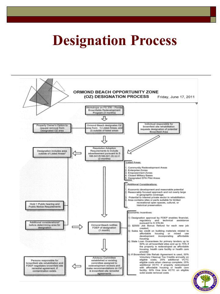Designation Process