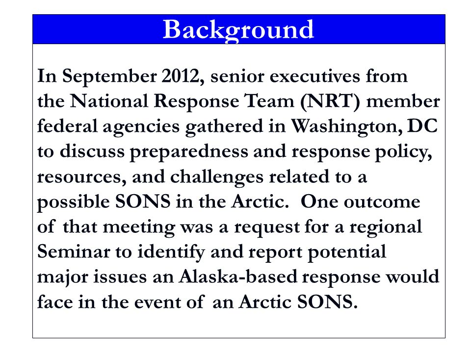 SONS Defined A Spill of National Significance (SONS) is a spill that due to its severity, size, location, actual or potential impact on the environment, or the necessary response effort, is so complex that it requires extraordinary coordination of federal, state, local, and responsible party resources to contain and clean up the discharge.