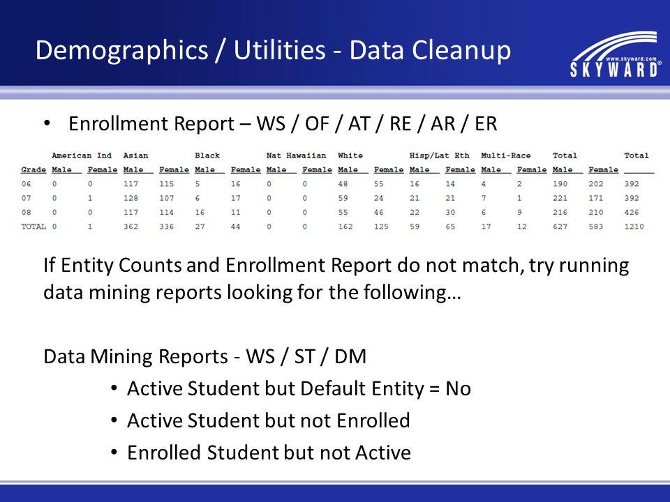 Student Profile – Grades Tab To verify information on student grades, run the Grade History Report.