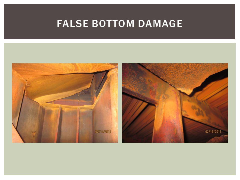 FALSE BOTTOM DAMAGE