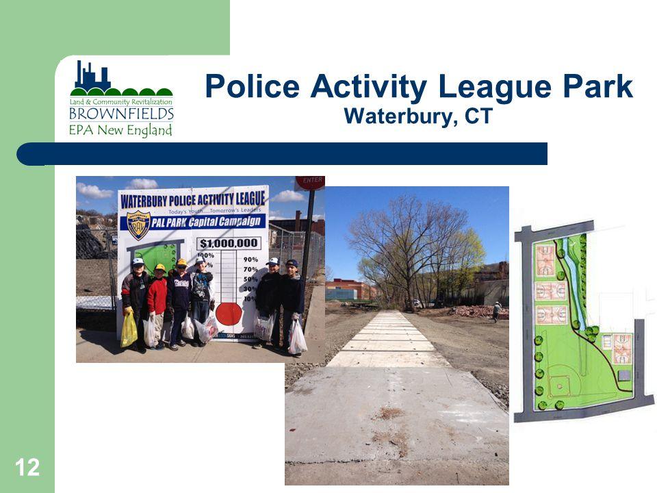 Police Activity League Park Waterbury, CT 12