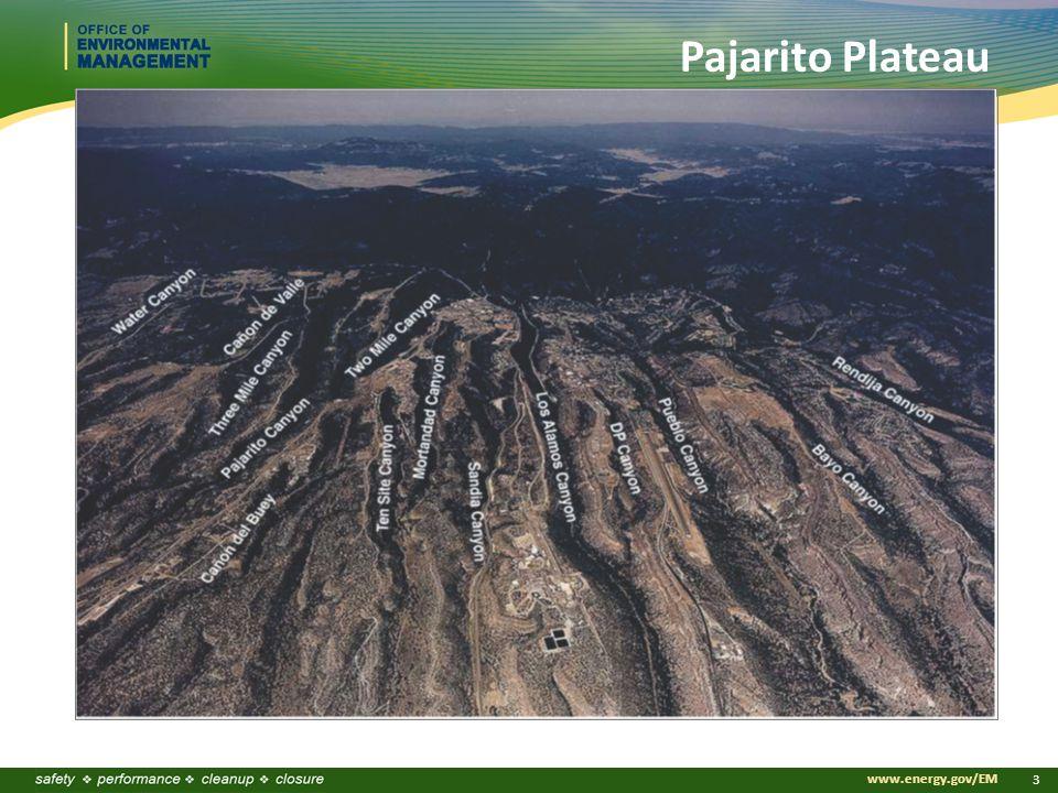 www.energy.gov/EM 3 Pajarito Plateau