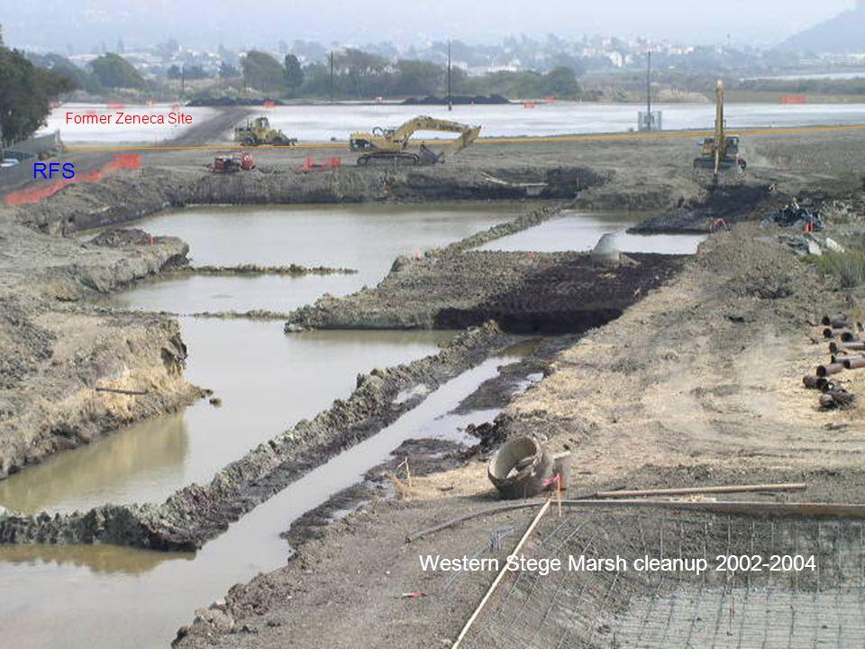Western Stege Marsh cleanup 2002-2004 Former Zeneca Site RFS