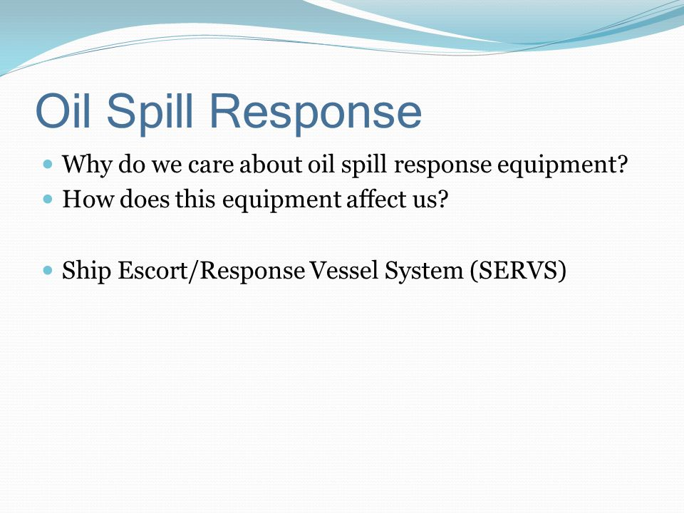 Methods for cleaning up oil spills Mechanical Burning Chemical Shoreline clean-up Biological