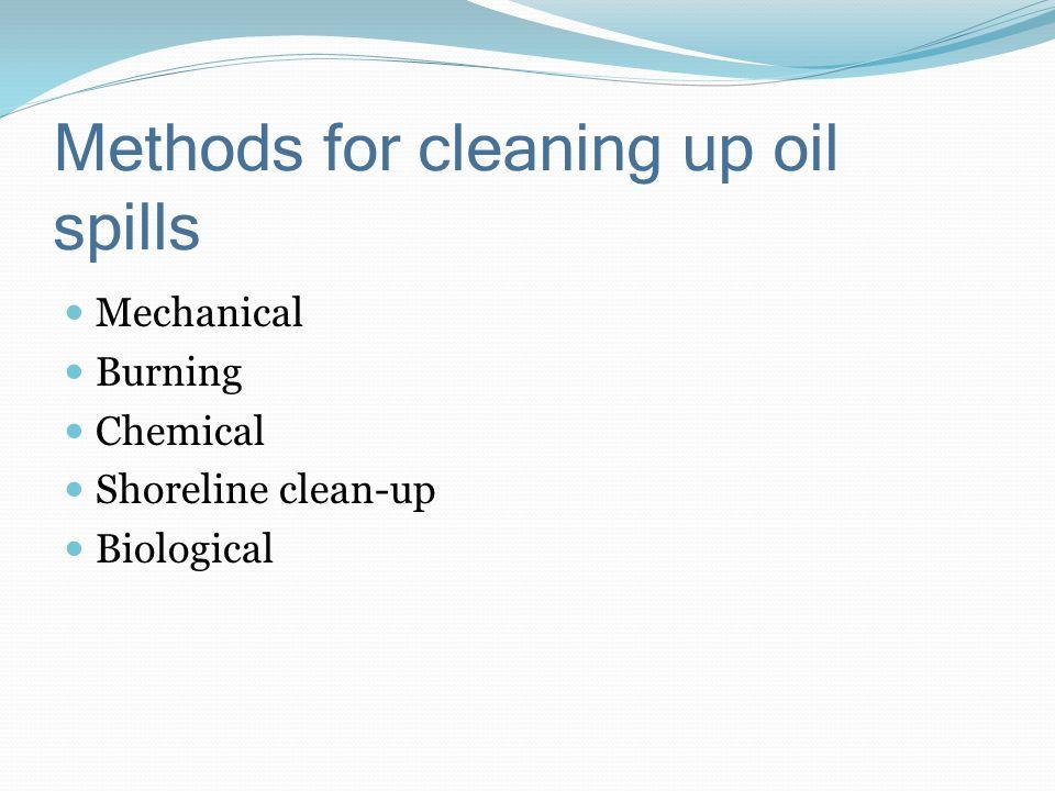 Other Methods Shoreline Cleanup Bioremediation