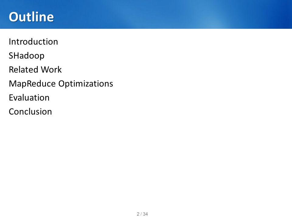 13 / 34 Optimized Execution Process