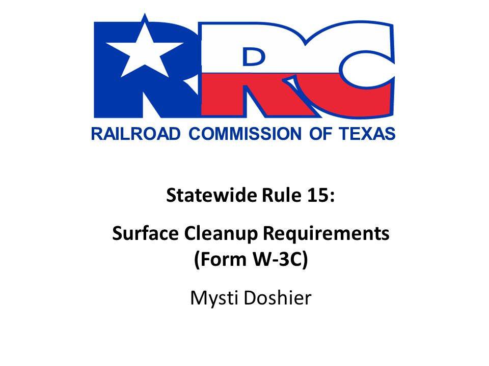 Surcharge The Railroad Commission has adopted changes to Statewide Rule 78 as it applies to certain fees charged by the commission's Oil & Gas Division.