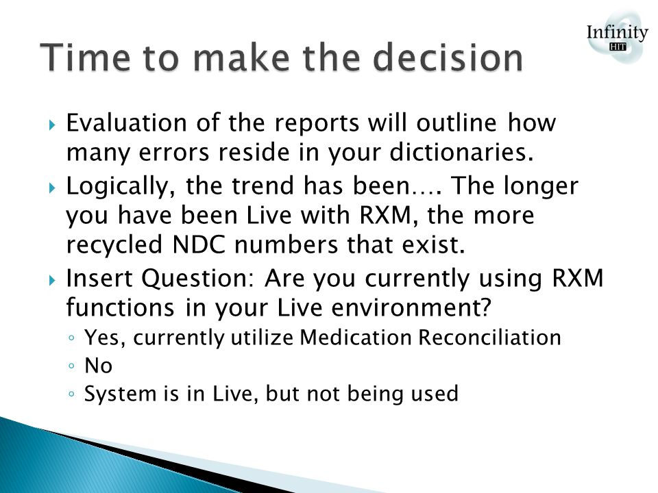  Evaluation of the reports will outline how many errors reside in your dictionaries.