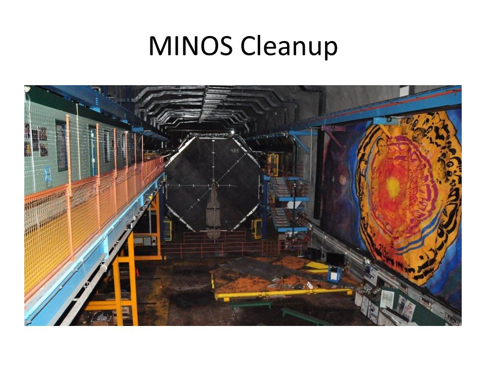 MINOS Cleanup