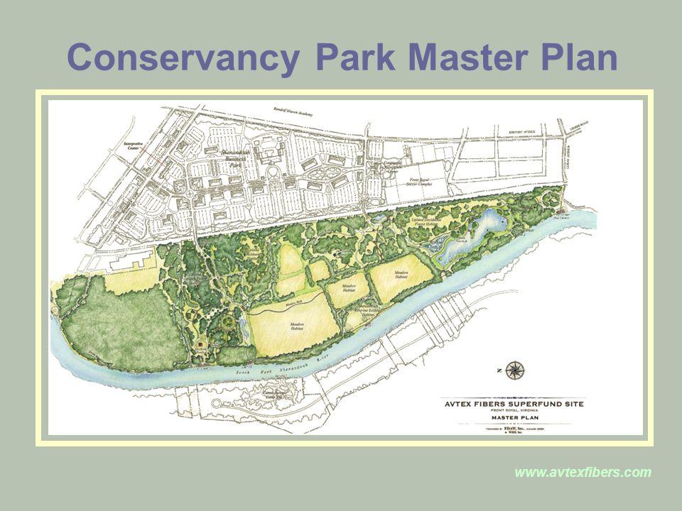 www.avtexfibers.com Conservancy Park Master Plan
