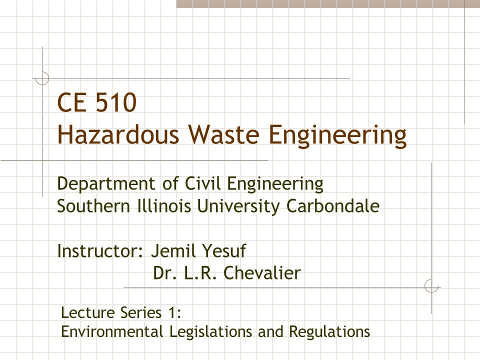 Table 1.1 Potential Number of Hazardous Waste Sites and Associated Cleanup Costs No.