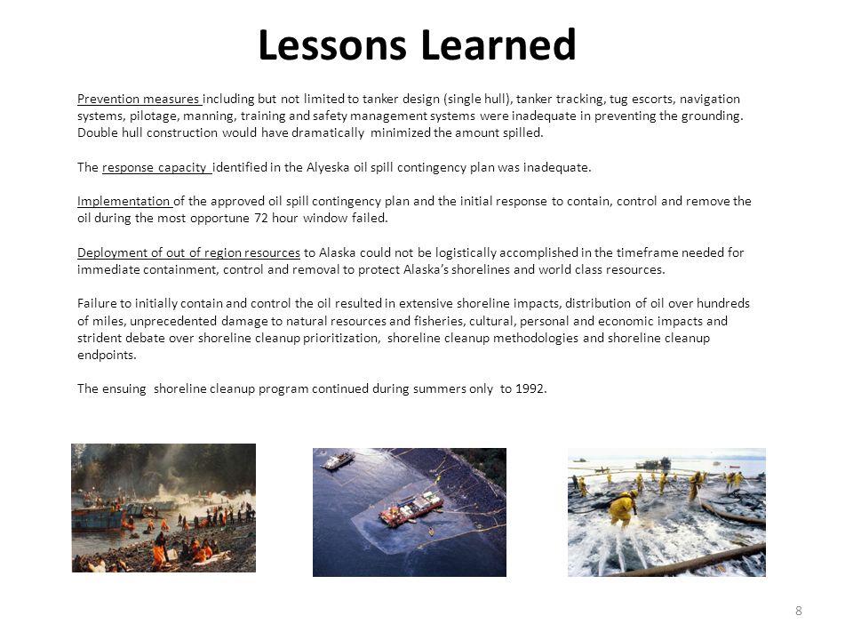 Exxon Shoreline Oiling - 1,500 miles 9