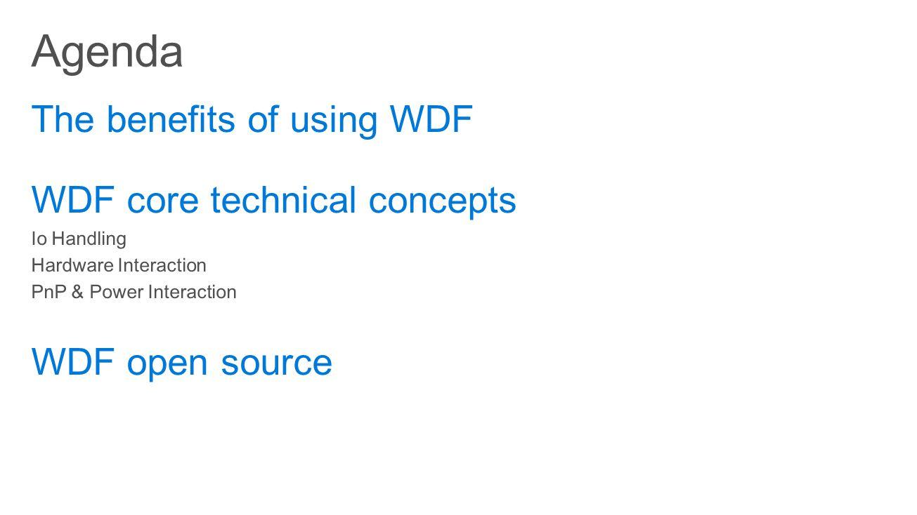 WdfDriverCreate ( RawDriverObject, […], attributes, &driver )