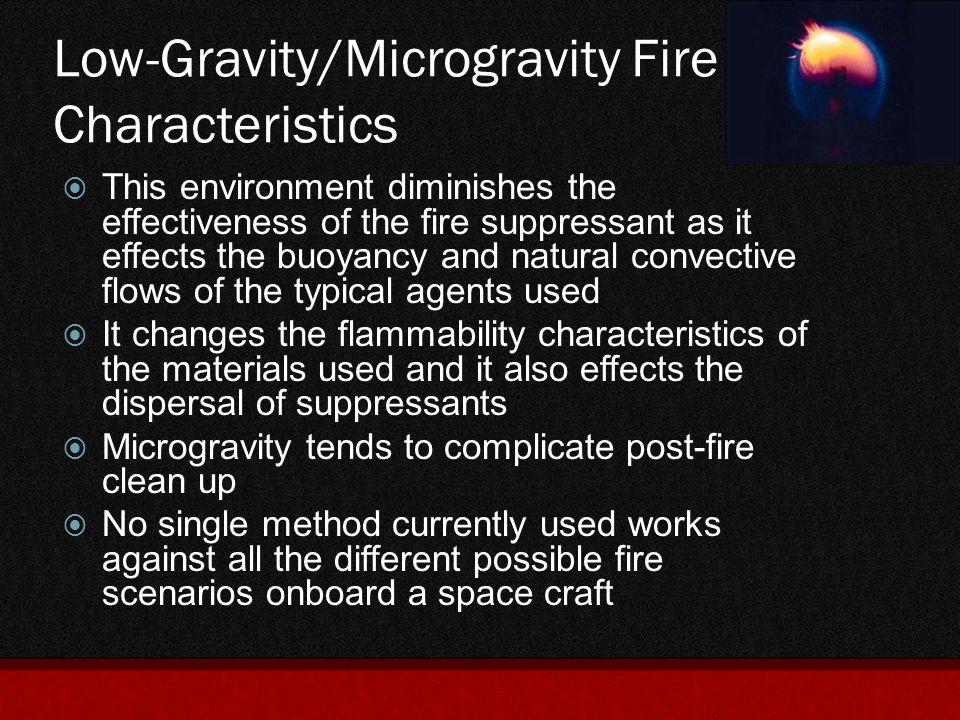 Fire Detection Using Atmospheric Sampling  The ISS uses continuous atmospheric sampling for air-quality monitoring.