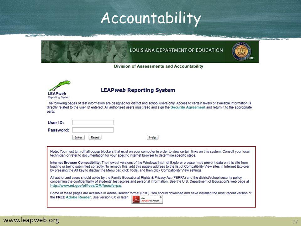 37 Accountability www.leapweb.org