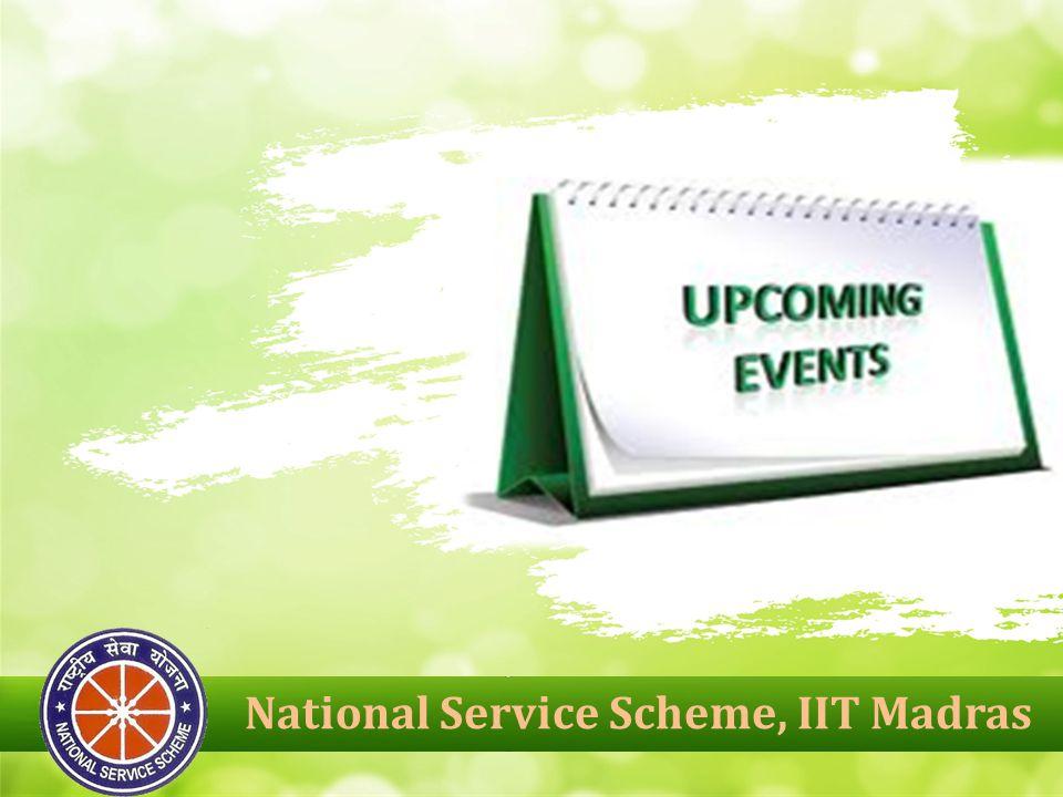 National Service Scheme, IIT Madras