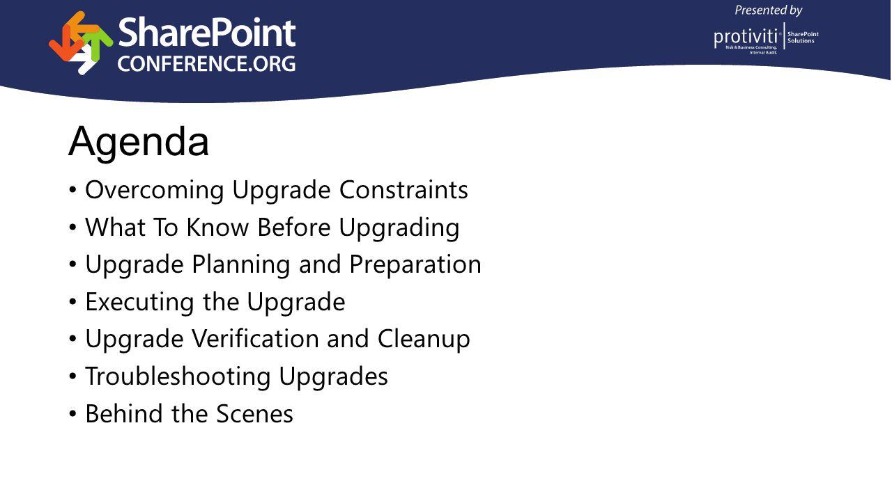 Overcoming Upgrade Constraints