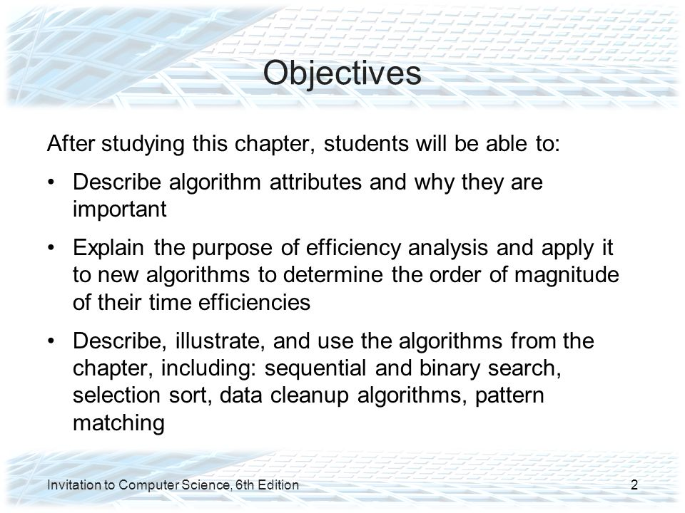 Analysis of Algorithms Data Cleanup Algorithms (continued) Shuffle-left algorithm: –Search for zeros from left to right –When a zero is found, shift all values to its right one cell to the left IS THIS RIGHT.