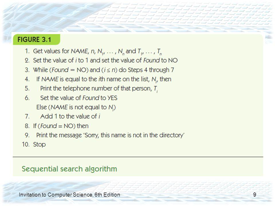 Invitation to Computer Science, 6th Edition30