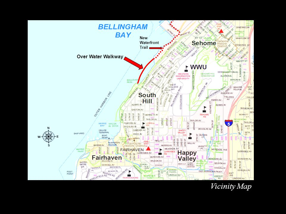 For more information and project updates, visit the www.cob.org and enter Over Water Walkway in the search box.www.cob.org City of Bellingham Parks and Recreation Design and Development Division