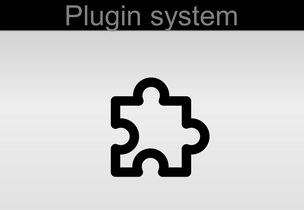 Definition of plugin: It is a software component that adds a specific feature to an existing software application – Wikipedia - Is necessary because: We allow external developers to collaborate to Indico It is easy do add new features outside the core Can be added or removed easily
