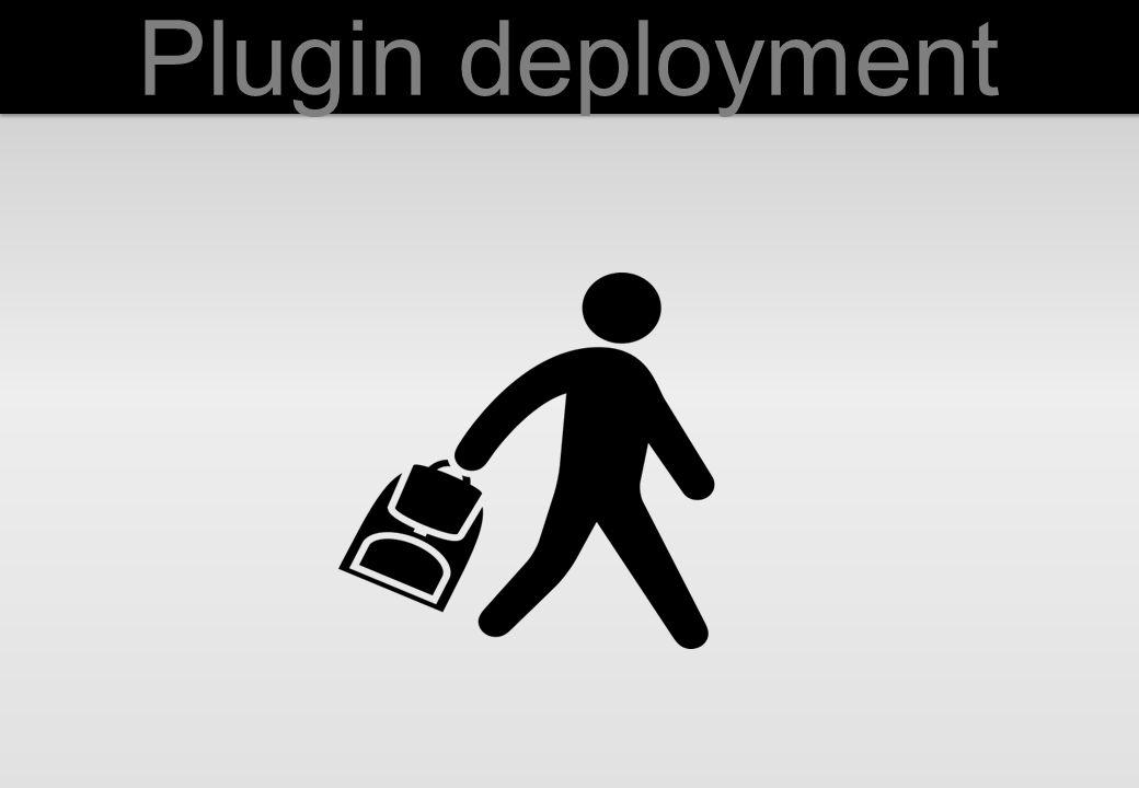 Plugin deployment