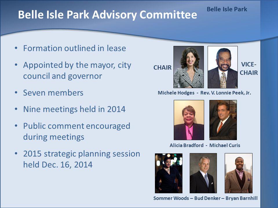 Belle Isle Park Facilities Use 78 casino rentals June 1 to Sept.