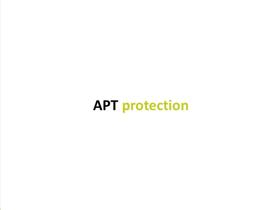 A Unique Approach to Protecting your Network  Scan ALL applications (including SSL traffic) to secure all avenues in/out of a network, reduce the att