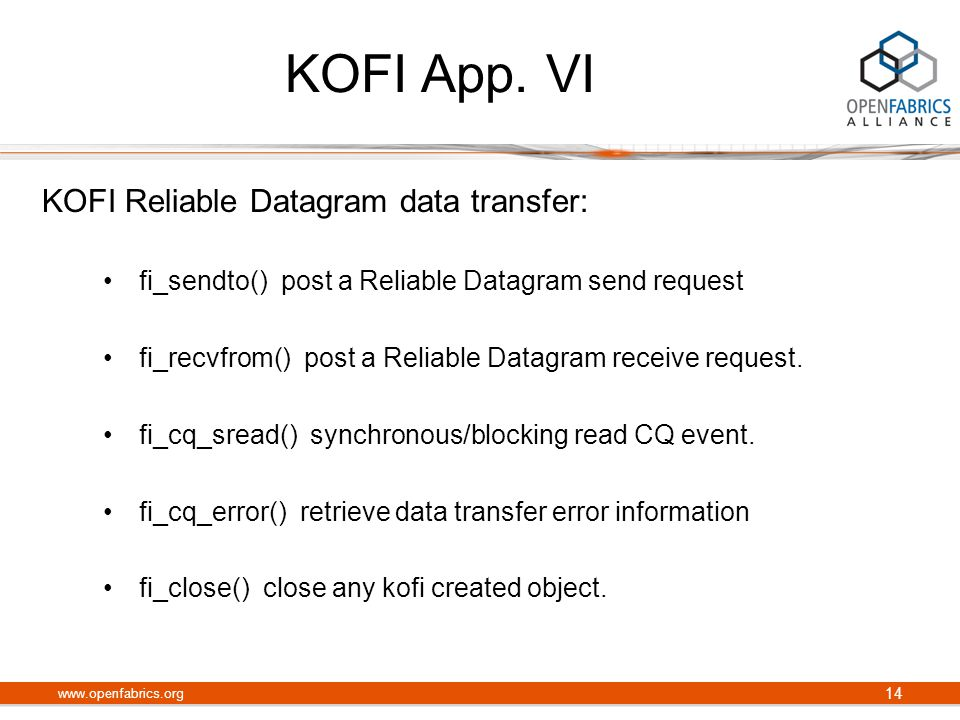 KOFI App.