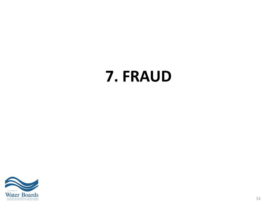 7. FRAUD 34