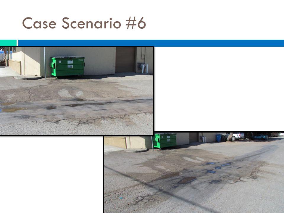 Case Scenario #6