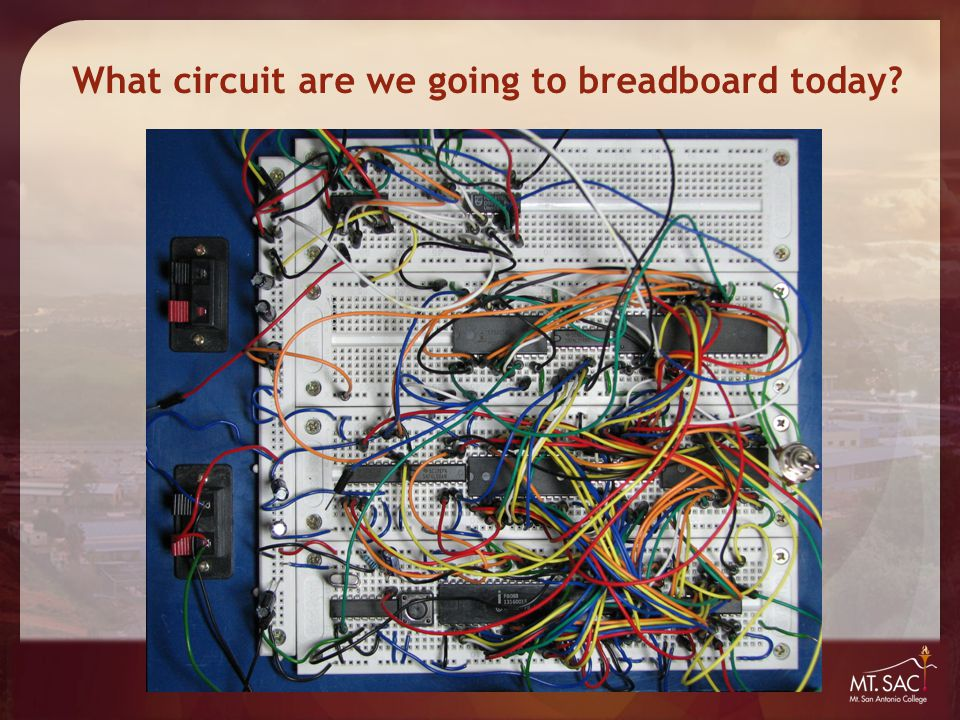 What circuit are we going to breadboard today?
