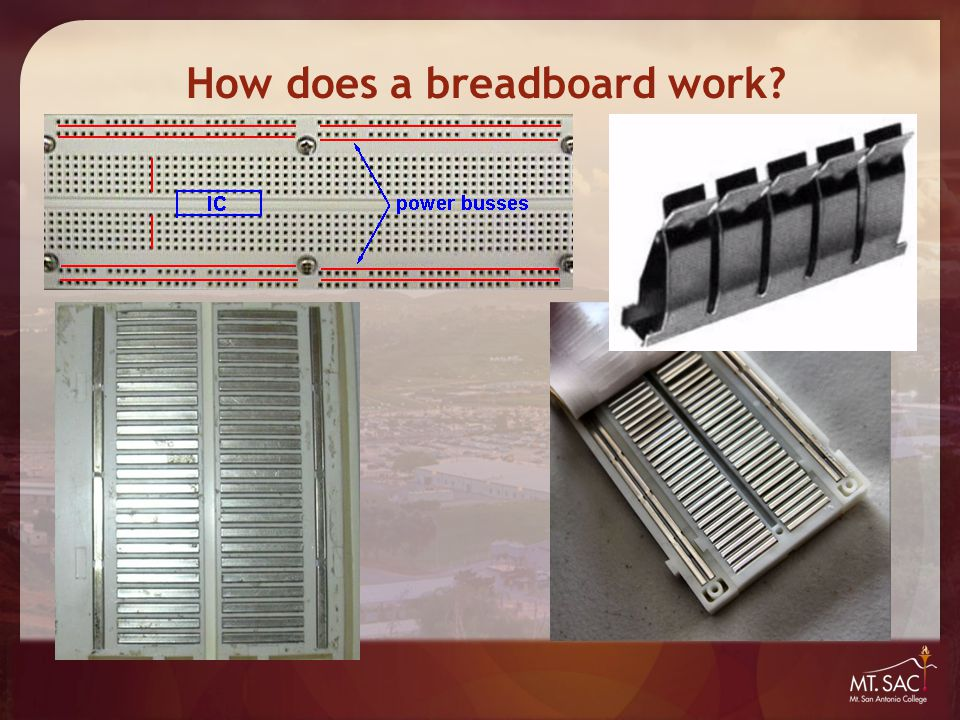 How does a breadboard work?