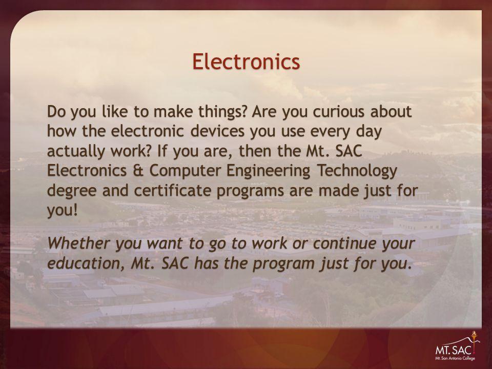 Electronics The Mt.