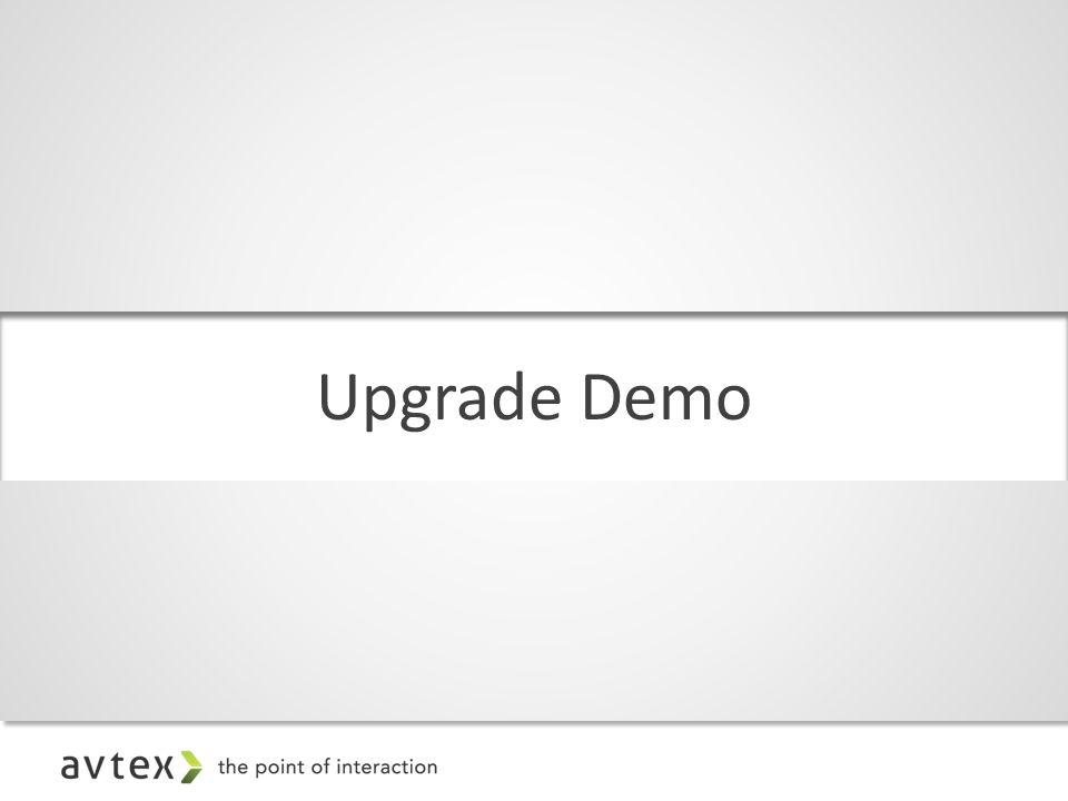 Upgrade Demo
