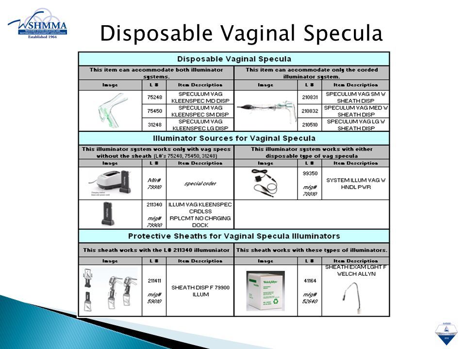 Disposable Vaginal Specula