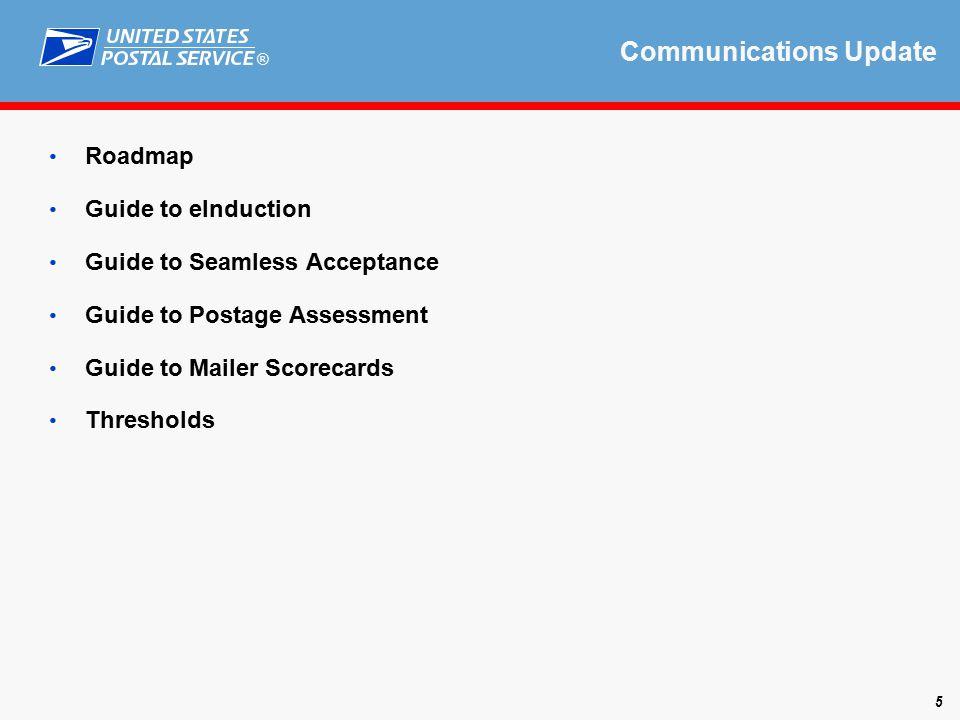 ® Scorecard/Assessment Update 6