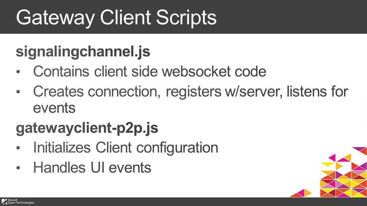 Gateway Client Scripts