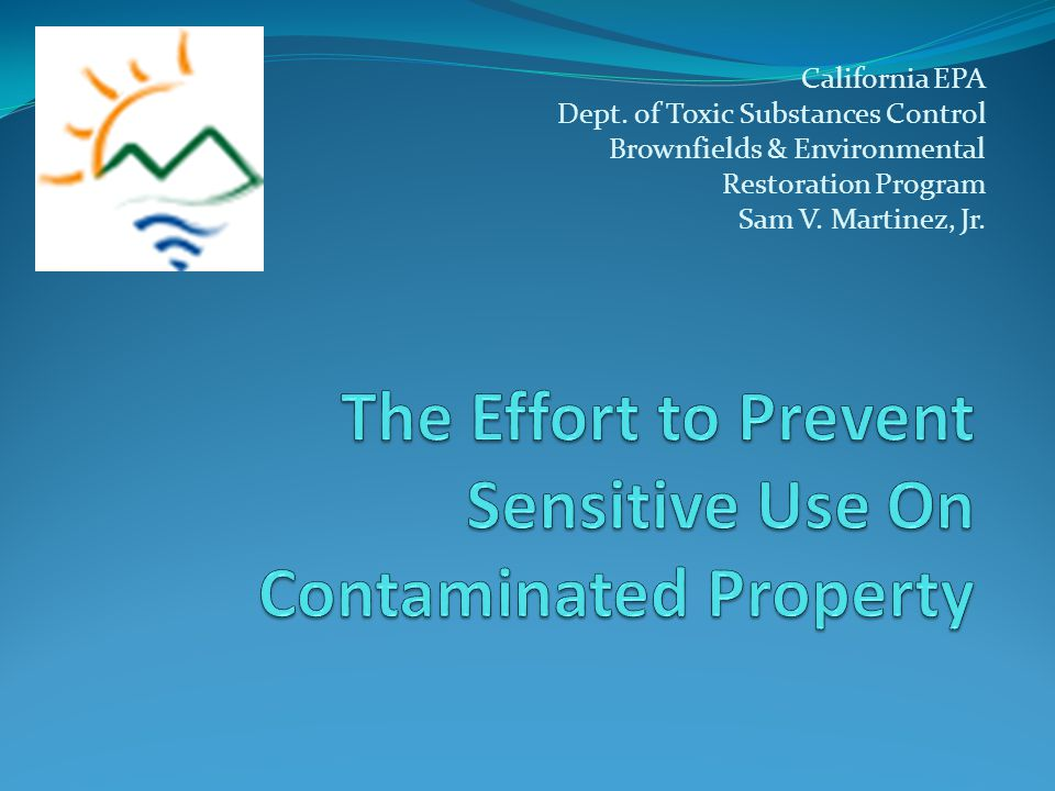 California EPA Dept.