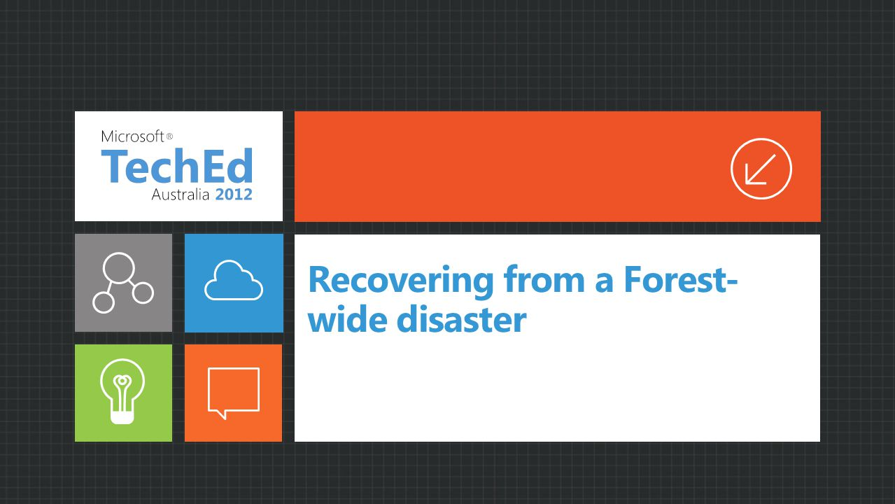 Recovering from a Forest- wide disaster