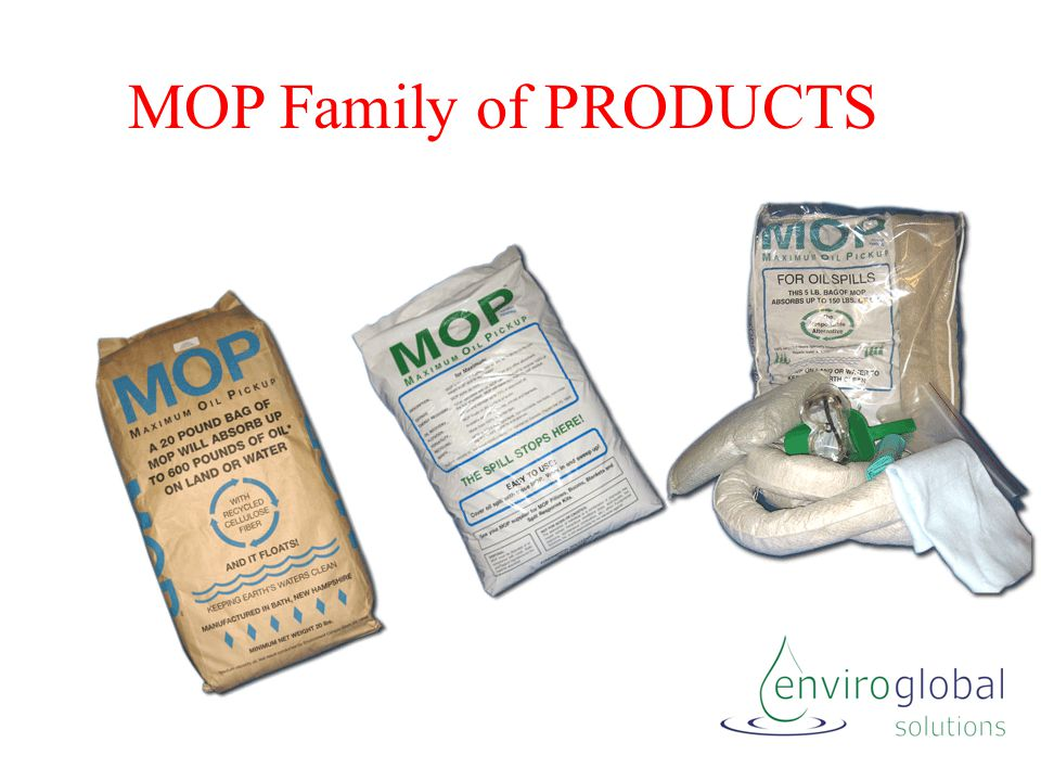 MOP Family of PRODUCTS