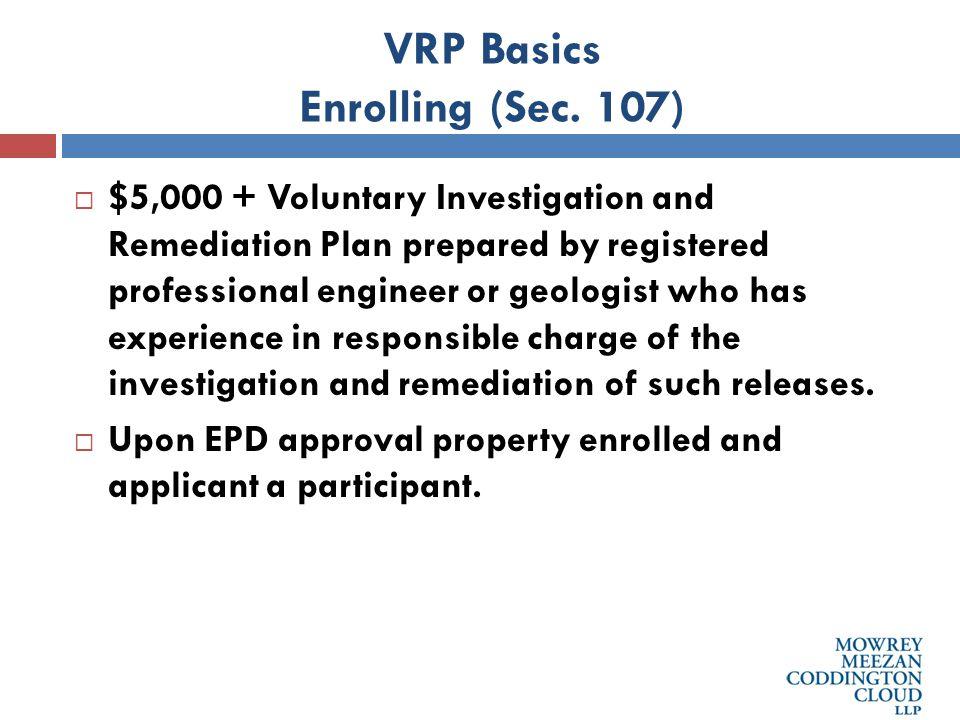 VRP Basics Enrolling (Sec.