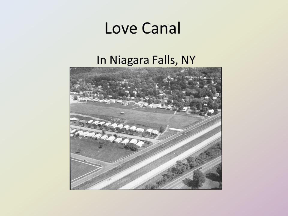 Love Canal In Niagara Falls, NY