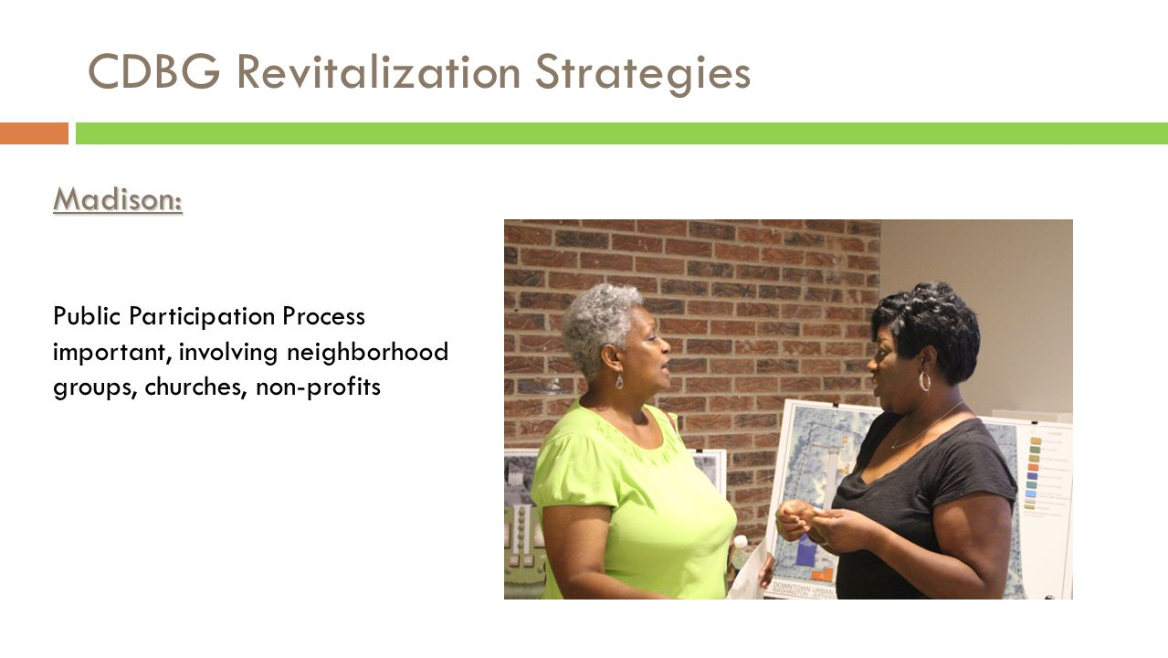 CDBG Revitalization Strategies Collaboration Griffin Housing Authority 2013-2014: GHA funded $20,000 for legal and environmental analysis resulting in the demolition of 8 substandard single family dwellings by the City of Griffin.