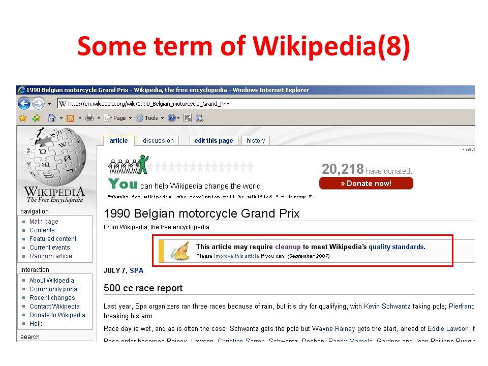 Some term of Wikipedia(8)