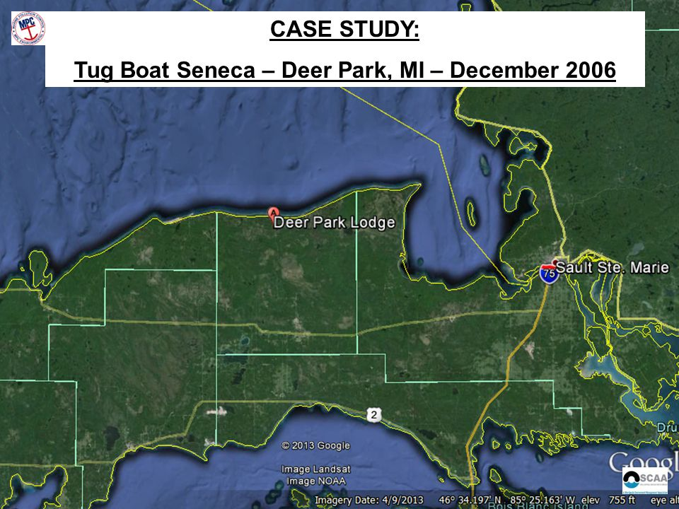 CASE STUDY: Tug Boat Seneca – Deer Park, MI – December 2006