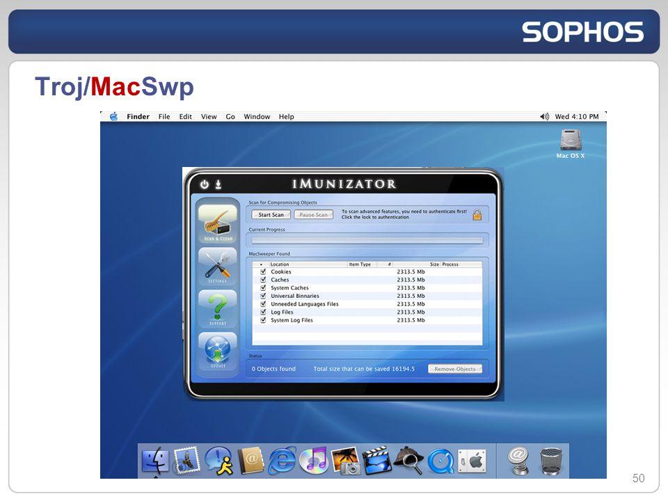 Troj/MacSwp 50
