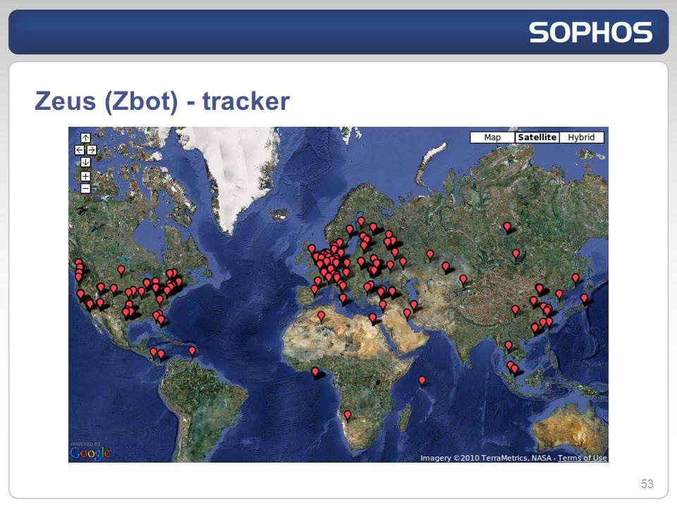 Zeus (Zbot) - tracker 53