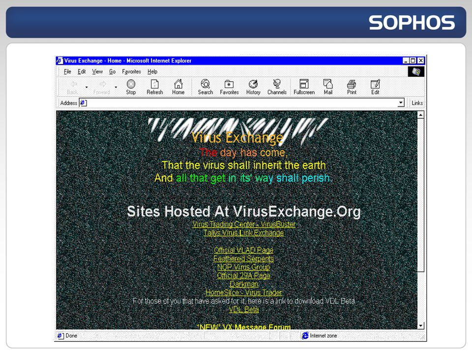 SophosLabs systems