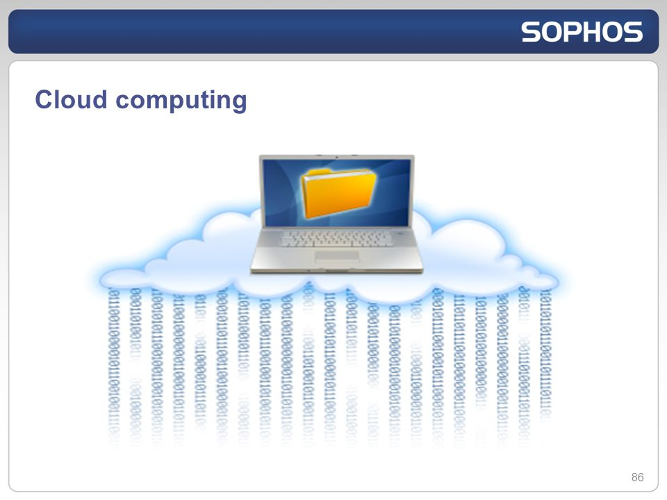 Cloud computing 86
